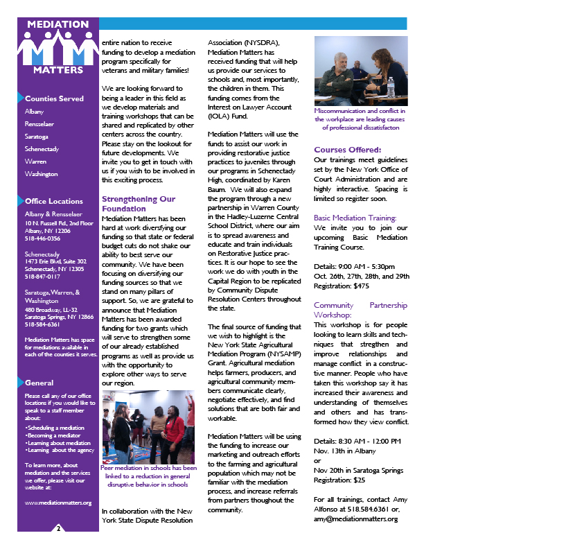 Fall Newsletter Back 9-22-15